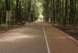 Центральна алейка отримала WiFi, лавки, освітлення, доріжки для велосипедистів і пішоходів.